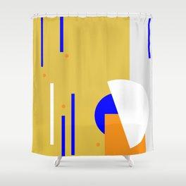 Dots it. Shower Curtain