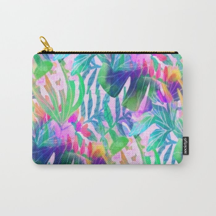 Pink Hawaiian  Carry-All Pouch