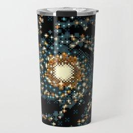 Pinwheel Galaxy M101 (8bit) Travel Mug
