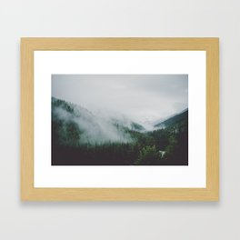 Misty Mounta Framed Art Print