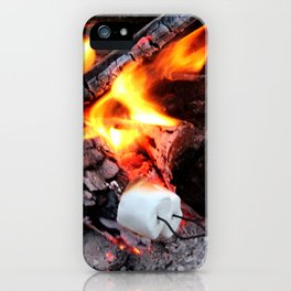 Roasting Marshmellows iPhone Case