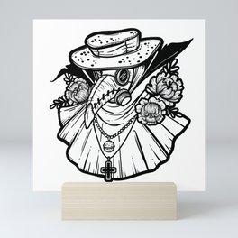 Plague Doctor Mini Art Print