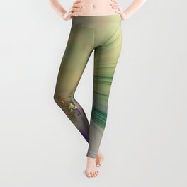 Fall Festive Fractal Leggings