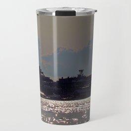 Casco Bay Sun Glitter Travel Mug