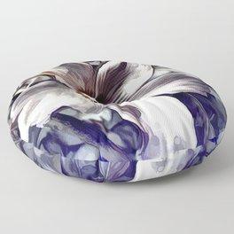 Pastel Hibiscus Floor Pillow