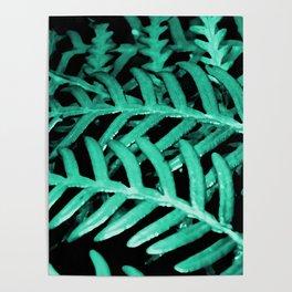 Bracken Fern - Digital Oil Painting Poster