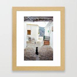 Portrait of a Dog Framed Art Print