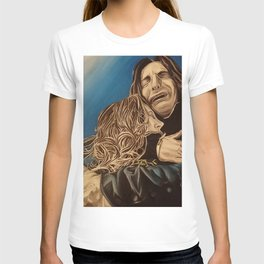 Severus and Lily, oil painting T-shirt