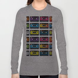 Vintage audio tape Long Sleeve T-shirt