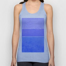 Blue City of Chefchaouen in Morocco Unisex Tanktop