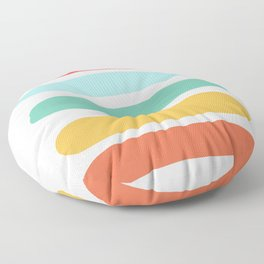 by the sea Floor Pillow