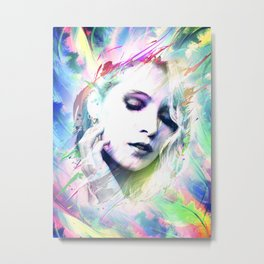Dreaming in Colour Metal Print