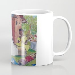 UGANDA Scene       by Kay Lipton Coffee Mug