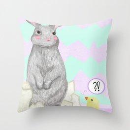 Easter/ Spring Throw Pillow
