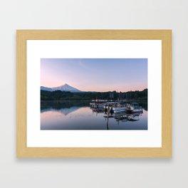 Pucon Sunrise Framed Art Print