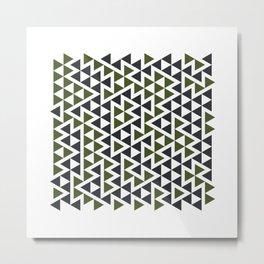 #458 Trap – Geometry Daily Metal Print