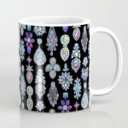 AB Crystal Earrings Pattern Coffee Mug