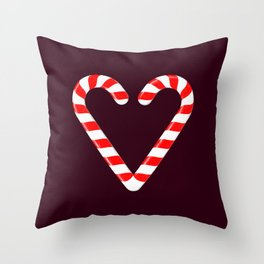 Candy Cane! Throw Pillow