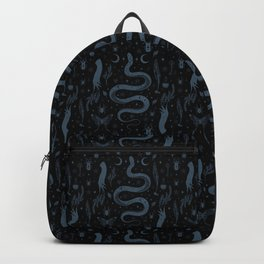 Mystical Collection-Black Backpack