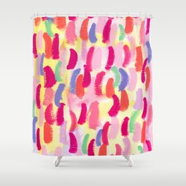 Abstract Pattern Modern - ALWAYS SING BANANA no.0 Shower Curtain