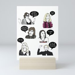 Housewives Mini Art Print