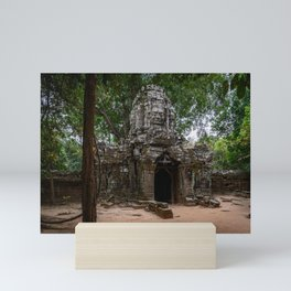 Ta Som Temple Ruins Mini Art Print