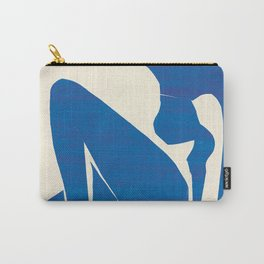 Blue Nude #1- Henri Matisse Carry-All Pouch