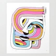 EXIT Art Print