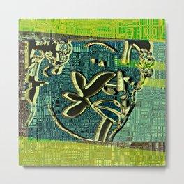Avatars 2 - Skin Circuits 07-08-16 Metal Print