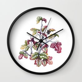 Poison Oak Wall Clock