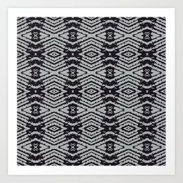 african structure Art Print