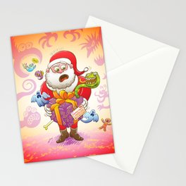 A Christmas Gift from Halloween Creepies to Santa Stationery Cards