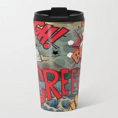 Hiroshige Comic Pop Art Metal Travel Mug