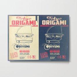 Origami Shindig Metal Print