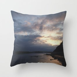 Peaking Through the Clouds Throw Pillow