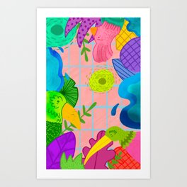 Pajarera Art Print