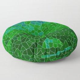 Mosaic Forest Floor Pillow