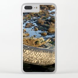Need A Tire Clear iPhone Case