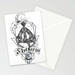 The Cunning House of Slytherin Stationery Cards