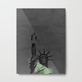 Liberté Metal Print