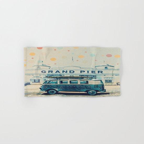 Grand Pier and VW Kombi Hand & Bath Towel