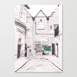 On Bold Street Canvas Print
