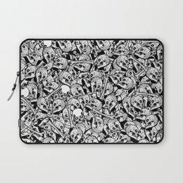 skulls and bones Laptop Sleeve