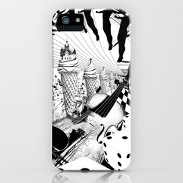 PLEASE, COME IN CONTACT OUR PLANET EARTH iPhone Case