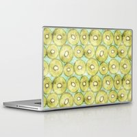 kiwi Laptop & iPad Skins featuring kiwi by kociara
