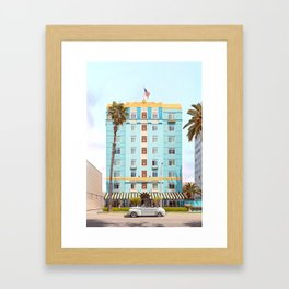 The Georgian Hotel Framed Art Print