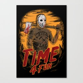Time for fun Canvas Print