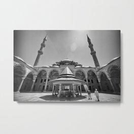 Leica Religion Metal Print
