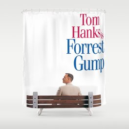 Forrest Gump Shower Curtain