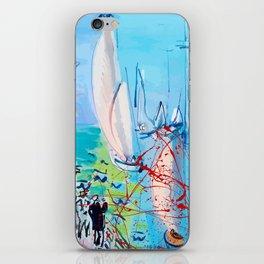 Regatta by Raoul Dufy iPhone Skin
